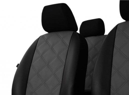 Set huse auto din piele ecologica pentru scaune Dacia Duster II 2017->