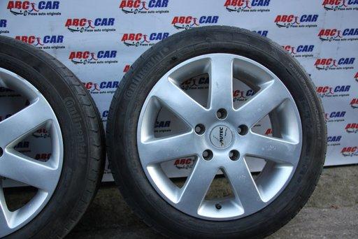 Set jante aliaj Autec cu anvelope Continental 195 / 55 / R16 5X120 ET 45 7.0JX16H2 BMW Seria 1 E87 model 2007