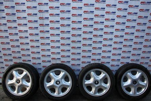 Set jante aliaj cu anvelope 195 / 50 / R15 ET 38 6JX15H2 4X100 Seat Toledo 1L cod: 1L0601025K model 1995