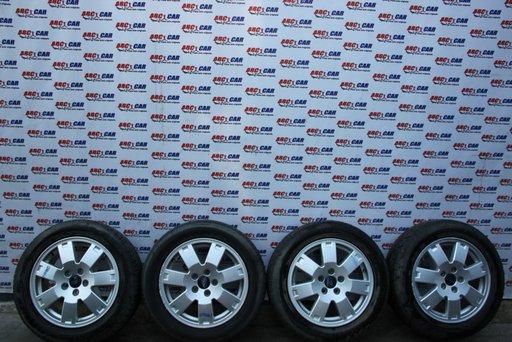 Set jante aliaj cu anvelope 205 / 55 / R16 15X8.5J Ford Mondeo 5X108 ET 52.5 cod: 3S71-AA model 2005