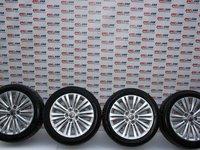 Set jante aliaj cu anvelope de vara 245 / 45 / R18 5X120 IS 42 18X8J Opel Insignia A cod 13313796 model 2012