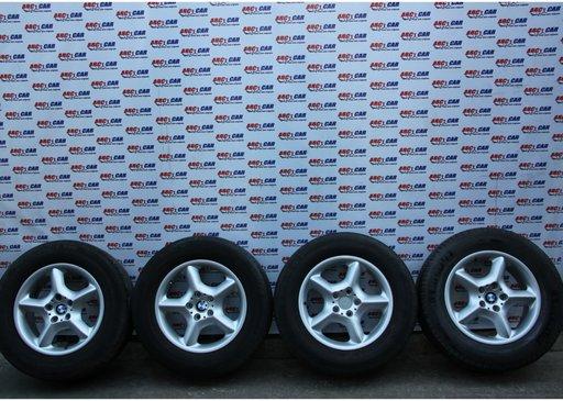 Set jante aliaj cu anvelope Michelin 235 / 65 / R17 5X120 7.5JX17 IS 40 cod: 6762330-14 BMW X5 E53 model 2002