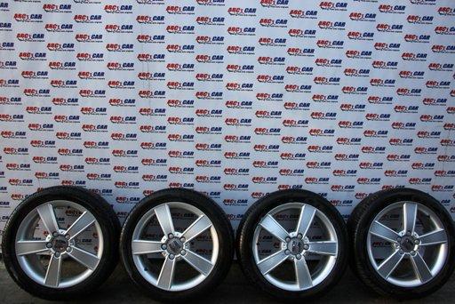Set jante aliaj cu anvelope Pirelli 225 / 45 / R17 ET 54 5X112 7JX17H2 Seat Altea cod: 1P0601025C model 2009