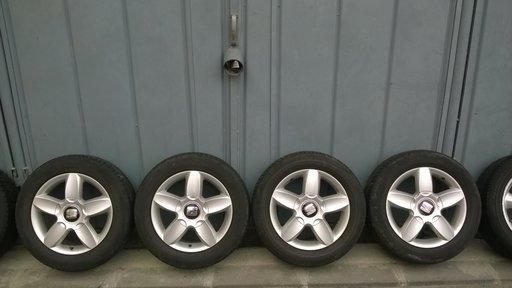 Set jante aliaj orig Seat pe 16 pt VW Audi Skoda S