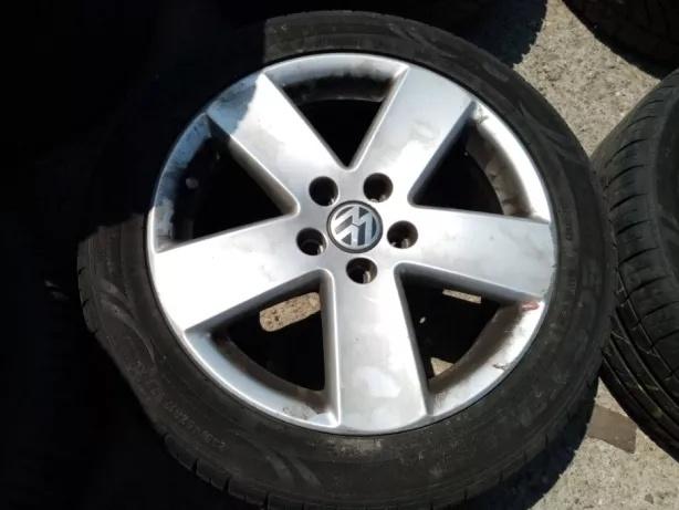 Set Jante aliaj VW Volkswagen ET 47 7,5J cu a