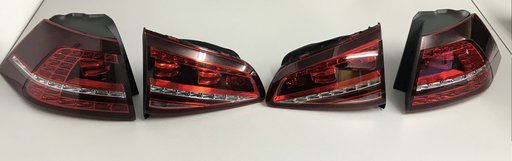 Set Lampi Spate Stopuri VW Golf 7 GTI/GTD Dupa 201