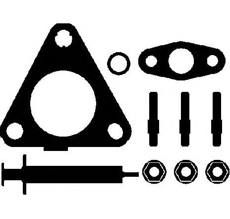 Set montaj, turbocompresor SUZUKI GRAND VITARA II JT PRODUCATOR ELRING 714.380