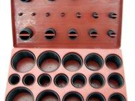 Set o-ringuri 407 piese rezistente la ulei si apa , marimi mari