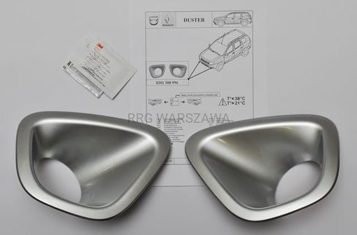 Set ornament proiector Cromat Dacia Duster 2010 - 2017 - 8201308996