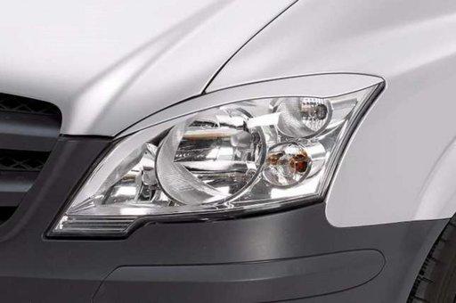 Set ornamente ABS pleoape faruri Mercedes W639 Viano Vito SB236 FACELIFT 2011-2014 v3