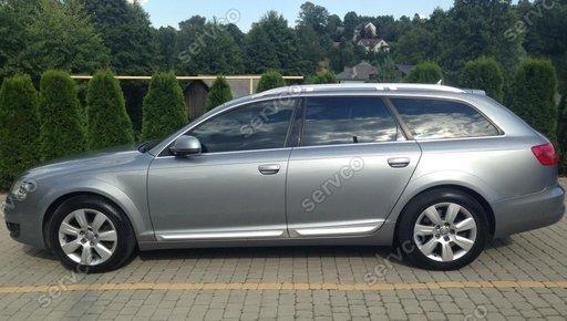 Set ornamente bandouri portiere usi Audi A6 C6 4F Sline S6 RS6 2004-2011 v1