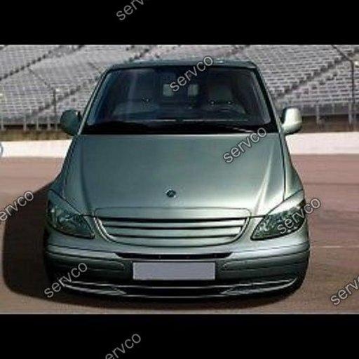 Set ornamente GRP pleoape faruri Mercedes W639 Vito 2 V Class tuning sport 2003-2010 v1