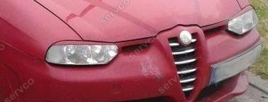 Set ornamente pleoape faruri Alfa Romeo 156 1996-2007 v1