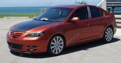 Set ornamente pleoape faruri Mazda 3 sedan 2003-2008 ver2