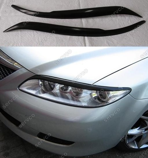 Set ornamente pleoape faruri Mazda 6 2002-2005 ver3