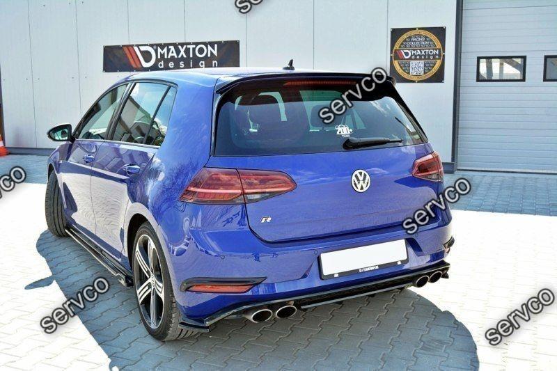 Set ornamente stopuri bara spate Volkswagen Golf 7 Mk VII Facelift 2017-2019 v1