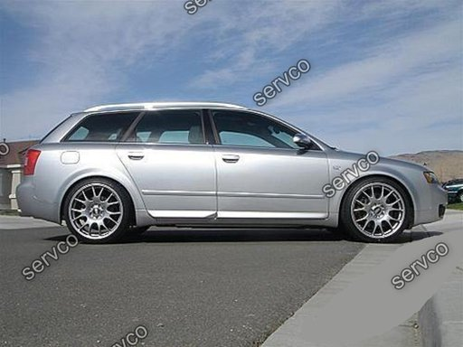 Set ornamente usi portiere bandouri Audi A4 B6 B7 8E 8H S4 RS4 S line 2001-2007 v1