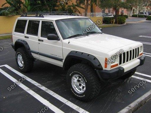 Set over fender flares wide body evazari aripi aripa overfender Jeep Cherokee XJ 1984-2000 ver1