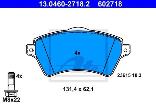 SET PLACUTE FRANA FATA - ATE - 13.0460-2718.2