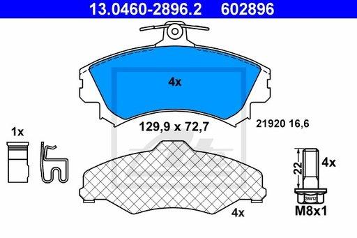 SET PLACUTE FRANA FATA - ATE - 13.0460-2896.2