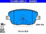 Set placute frana fata VW Polo 9N 1.9 SDI 13.0460-2883.2