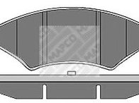 Set placute frana,frana disc FORD SIERRA hatchback (GBC, GBG), FORD SIERRA (GBG, GB4), FORD SIERRA hatchback (GBC) - MAPCO 6159/2