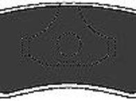 Set placute frana,frana disc KIA MENTOR limuzina (FA), KIA MENTOR (FA), KIA SEPHIA (FB) - MAPCO 6159