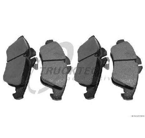 Set placute frana, frana disc punte fata MERCEDES SPRINTER 4-T BUS ( 904 ) 02/1996 - 05/2006 - piesa NOUA - producator TRUCKTEC AUTOMOTIVE 02.35.082 - 304662