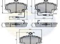 Set placute frana, frana disc punte fata RENAULT CLIO II caroserie ( SB0/1/2 ) 09/1998 - 2018 - producator COMLINE CBP1431 - 304790 - Piesa Noua