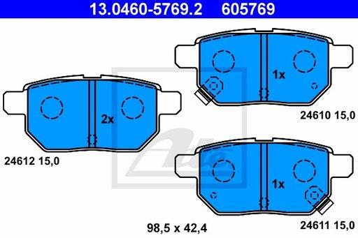 SET PLACUTE FRANA SPATE - ATE - 13.0460-5769.2