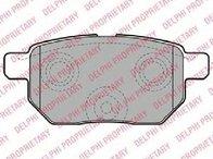 Set placute franafrana disc TOYOTA VERSO ( AUR2, ZGR2 ) 04/2009 - 2018 - producator DELPHI LP2105 - 308158 - Piesa Noua