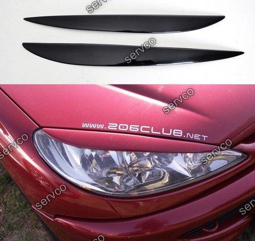 Set pleoape faruri Peugeot 206 ver1