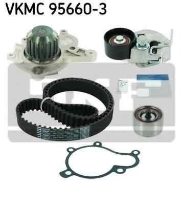 Set pompa apa + curea dintata KIA MAGENTIS (MG) SKF VKMC 95660-3
