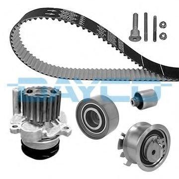 Set pompa apa + curea dintata VW TOURAN (1T1, 1T2)