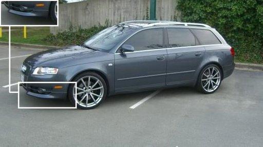 Set prelungire spoiler bara fata Audi A4 B7 RS4 RS 4 S4 S 4