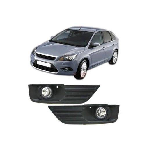 Set proiectoare cu grila Ford Focus 2005-2008