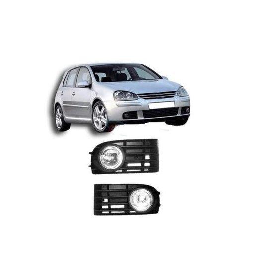 Set proiectoare cu grila VW Golf 5