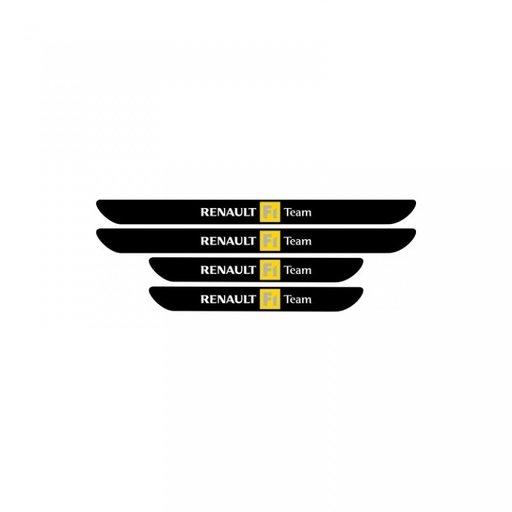 Set protectie praguri Renault F1 Team