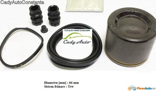 SET REPARATIE ETRIER FATA CU PISTONAS CHRYSLER DODGE JEEP , DIAM PISTON 66 mm