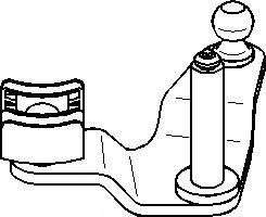 Set reparatie, levier cutie de viteze VW POLO limuzina (6KV2), AUDI A3 (8L1), SEAT AROSA (6H) - TOPRAN 111 332