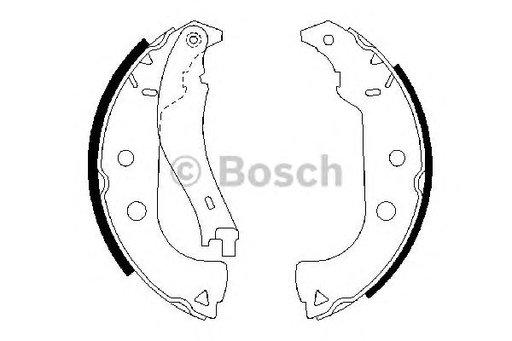 Placute Frana Fiat Idea Bosch