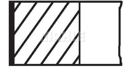 Set segmenti piston SEAT CORDOBA - OEM-MAHLE ORIGINAL: 030 32 N0 - Cod intern: 030 32 N0