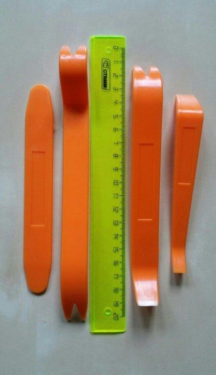 Set spatule din plastic,4 bucati