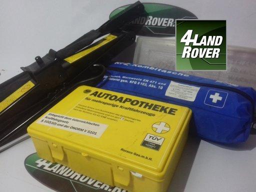 Set trusa prim ajutor + crick si coarba LAND ROVER Discovery 3, RANGE ROVER SPORT 2.7