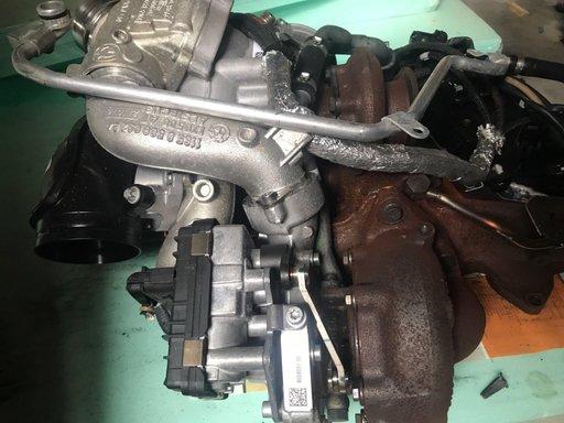 Set Tubine 3.5 4.0 N57D30B bi-turbo 313cp , pt F01 , F10 , f06 , f13 , f15 , f16 , f30 , f32 etc