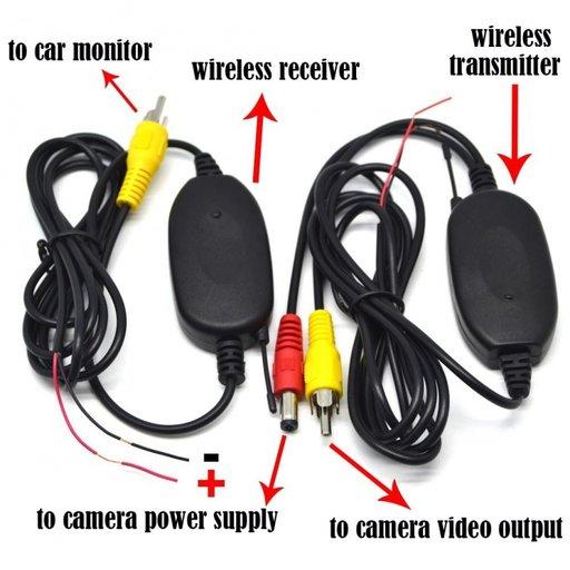 Set wireless pentru camera marsarier