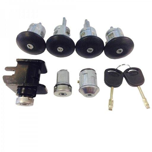 Set yale / set butuci cu cheie contact cu cheie pentru Ford Transit mdoel 2000-2006