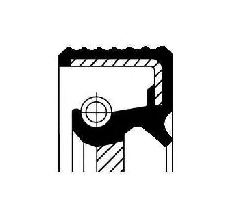 Simering, arbore cotit partea fata OPEL FRONTERA A Sport ( 5SUD2 ) 03/1992 - 10/1998 - producator CORTECO 12013859B - 300435 - Piesa Noua