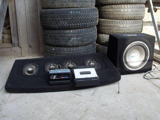 Sistem complet audio MAGNAT VW GOLF 4 si alte modele
