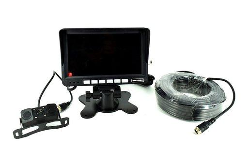 Sistem kit monitor senzor parcare + camera mansarier turism/camion 12V-24V